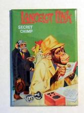 "Vintage LANCELOT LINK SECRET CHIMP LANCE 2"" x 3"" Fridge MAGNET"