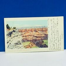 Postcard vtg paper ephemera post card Grand Canyon 1903 Arizona Michigan Benton