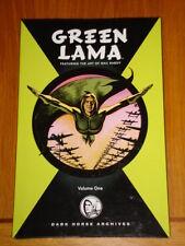 GREEN LAMA  DARK HORSE ARCHIVES VOLUME 1 GRAPHIC NOVEL HARDBACK 9781593079420