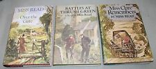 Lot of 3 First American Edition Miss Reed books Over the Gate, Miss Clare +ONE