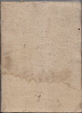 V203-FERRARA-CENTO-1731/1753 LIBRO CONTABILITA' AGRARIA CORPO DI RENO