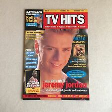 TV HITS Magazine DECEMBER 1993, Jeremy Jordan, Beverly Hills 90210, Kelly Slater
