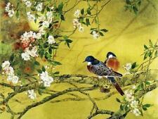 Green Canvas Floral Art Prints