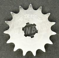 PBI 428 Front Sprocket Steel 15 Teeth Natural 732-15