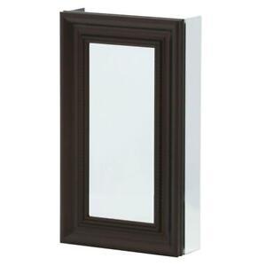 Pegasus Bathroom Medicine Cabinet Adjustable Glass Shelves Oil Rubbed Bronze