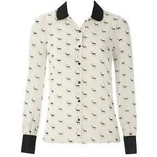 Papaya Classic Collar Long Sleeve Tops & Shirts for Women