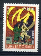 STAMP / TIMBRE FRANCE OBLITERE N° 3669 BLAKE ET MORTIMER / LA MARQUE JAUNE