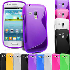 S Line wave TPU Silicone Gel Case Cover For Samsung Galaxy S3 & S3 Mini i8190