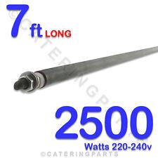 """He8425 84 """" / Bilanciere lungo 2500 Watt 2,5 kw UNIVERSALE secco / umido Bacchetta degli elementi di riscaldamento"""