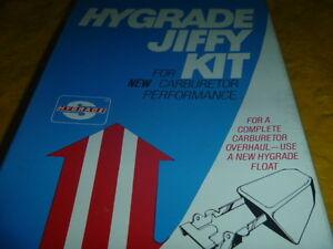 New 76 77 78 Chevrolet Chevette Hygrade 916A Carburetor Repair Kit
