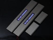 Jeep Grand Cherokee WK illuminated LED Door Sill Protect Panel Scuff Plate