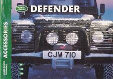 Land Rover Defender Accessories 1999-2000 UK Market Sales Brochure