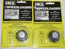 2 Pack HKS DS-A Speed Loader Colt Detective Spl Cobra Agent D'Back 38 SPL