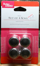 20x Better Homes and Gardens Beaded Cabinet Drawer Knobs: Oil Rubbed Bronze