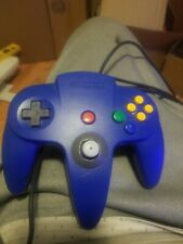 OEM Nintendo 64 [Blue & Gold - Two Tone] Video Game Controller (N64) Good Stick.