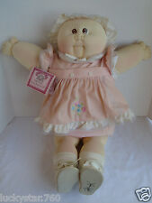 1984 ORIGINAL CABBAGE PATCH XAVIER ROBERTS LITTLE  GIRL MERRY PRUDENCE SIGNED