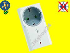 SmartHome Digitale Outdoor Funk Zeitschaltuhr = Außen Funk Steckdose + Timer Fernbedienung, für Leuchten und Geräte bis max. 3500W