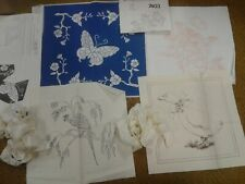 Tri-chem Liquid Embroidery Pillows And Quilt Squares vintage