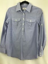 82053c9bf5f Vineyard Vines Juniors Long Sleeve Pencil Striped Shirt Sz 2 100% Cotton