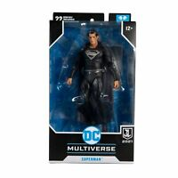 Superman Black Suit Figure PREORDER - McFarlane Toys - Snyder Cut Justice League