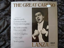 MARIO LANZA - THE GREAT CARUSO - RCA RED SEAL LABEL