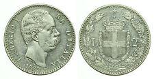 pci0160) Regno  Umberto I Lire 2 Scudo 1883
