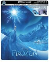 Frozen [SteelBook] [Includes Digital Copy] [4K Ultra HD Blu-ray/Blu-ray] [2013]