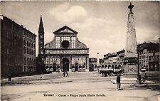 CPA FIRENZE Chiesa e Piazza Santa Maria Novella . ITALY (492165)