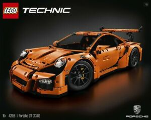 NEW LEGO TECHNIC PORSCHE 911 GT3 RS. 42056. MINT SEALED IN SHIPPING BOX