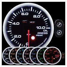 Depo Racing 52mm BAR Oil Pressure 7 Color Peak Warning series PK5227BAR
