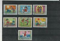 934 - 40 Kindertag Marionetten Figuren  Mongolei
