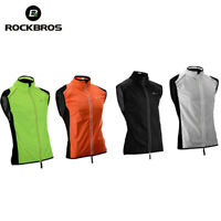 RockBros Cycling Reflective Wind Vest Windvest Sleeveless Outdoor Sports Jersey