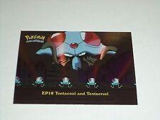 EP18 Tentacool and Tentacruel Foil Holo 2000 Topps Pokemon Series 2 Episode Card