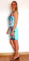 New Lady, Woman's Summer Stylish Floral Print Stretch Dress size 10-14 UK-seller