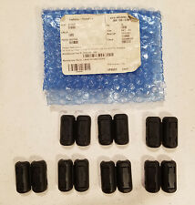 (Lot of 7) Steward 28A0640-0A2 Ferrite Cylinder Clamp-On, Black 240 Ohms@100 mHz