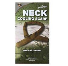 NEW - British Army Issue Desert Tan Hot Weather Reusable Neck Cooler Scarf