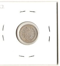 Netherlands 1928 10 cents, silver coin in flip