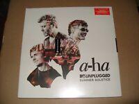 a-ha MTV Unplugged  Summer Solstice 3 LP VINYL 2017 NEW & SEALED
