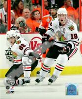 "Patrick Kane & Jonathan Toews Chicago Blackhawks Stanley Cup Photo (8"" x 10"")"