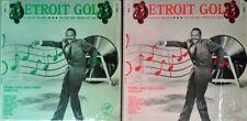 DETROIT GOLD VOL. 1 & VOL. 2 - SOLID SMOKE - (2) LP LOT - BOTH IN SHRINK WRAP