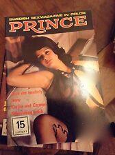 PRINCE - SWEDISH MAGAZINE RIVISTA SEXY EROTICA VINTAGE N°15 1974