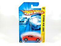 2007 Hot Wheels NEW MODELS Chevy Camaro Concept 2/36 Red Orange w/ Protecto