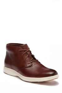 NWB Cole Haan Men's Grand Tour Leather Chukka Boot Woodbury/Ivory US Size 11M