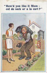 DONALD McGILL inter Art #6505 Coal How'd you like it Mum Cul de Sack / a La Cart