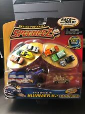 2004 PLAYMATES SPEEDEEZ Race For The Gold Chevy's MINT RARE