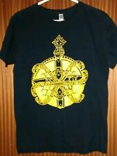 Vintage Gentlemans Pistols t-shirt orb & guns Rock Leeds voorhees carcass medium