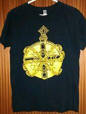 Vintage Gentlemans Pistols t-shirt orb & guns Rock Leeds voorhees carcass medium