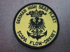 Scapa Flow Orkney German High Seas Fleet Cloth Patch Badge (L6K)