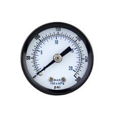 0-300psi 0-20bar Mini Dial Compresseur d'air Compteur hydraulique Manomètre