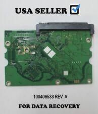 For Seagate ST3750640AS 750GB PCB Hard Drive Board SATA Model: 100406533 REV. A